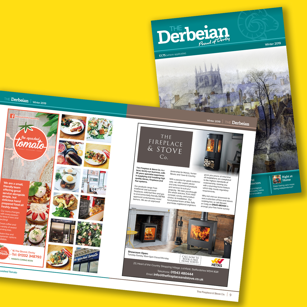 Derbeain Magazine Winter 2018